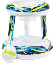 franklin sports floating pool basketball hoop with ball