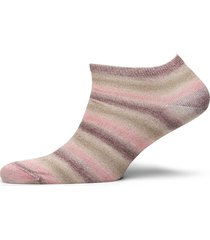 decoy sneaker sock lurex lingerie socks footies/ankle socks rosa decoy