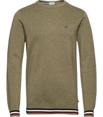 signature knit sweat-shirt trui groen lindbergh