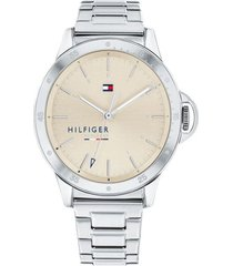 reloj tommy hilfiger 1782026 plateado -superbrands