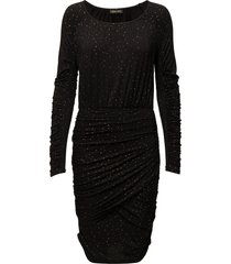 balance dress, orions knälång klänning svart stine goya