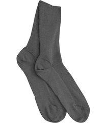 dubbelpak katoenen sokken, antraciet 40/41