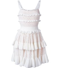 antonino valenti melissa skater dress - white