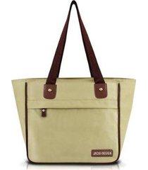 bolsa jacki design essencial iii shopper lisa feminina