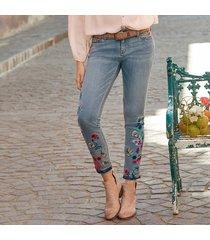 primrose blooms jeans