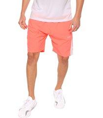 pantaloneta deportiva coral-blanco jogo