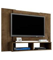 painel móveis bechara navi para tv até 47 pol madeira rústico