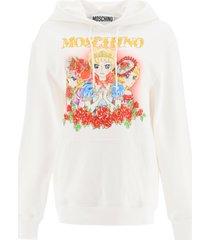 moschino marie antoinette hoodie lady oscar print