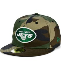 new era new york jets woodland 59fifty cap
