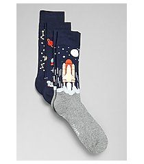 jos. a. bank outer space socks, 3-pair
