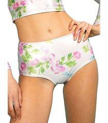 bailey metallic rose bikini bottom