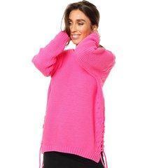 sweater fucsia exotica elisa