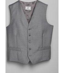 jos. a. bank men's 1905 navy collection regal fit suit separates vest clearance, light grey, 56 regal short