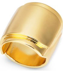 alfani gold-tone wide ring, created for macy's