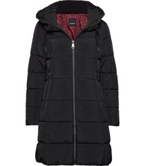 outdoor jacket no wo gevoerde lange jas zwart taifun