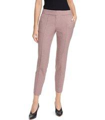 women's hugo hevas check crop suit pants