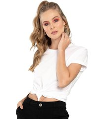camiseta bec blanco ragged pf51120462