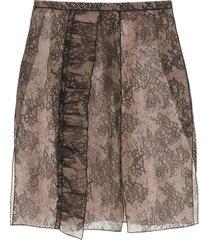n.21 lace midi skirt
