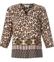 blouse 3/4-mouwen van anna aura multicolour