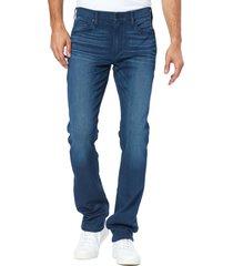 men's paige federal slim straight leg jeans, size 32 - blue