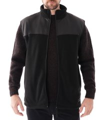 rains fleece vest jacket |black| 1815-01