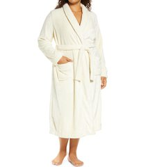 plus size women's nordstrom bliss plush robe