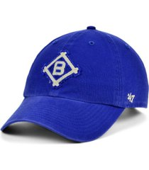 '47 brand brooklyn dodgers mclean coop clean up cap