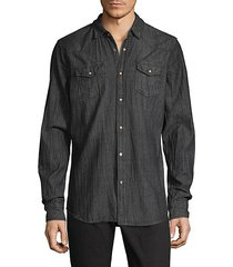 seattle wrinkled cotton sport shirt