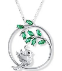 collar ave sur casual plata arany joyas