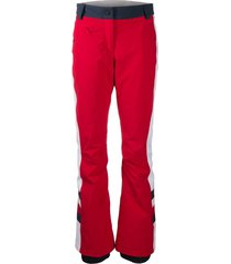 tommy hilfiger x rossignol padded ski trousers - red