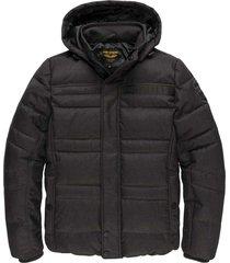 hooded jacket twill liftma meteorite