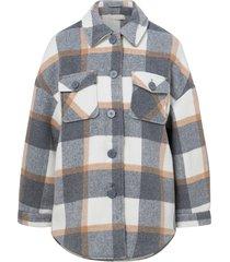 skjortjacka pcselma overshirt jacket w/o belt
