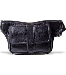 pochete artlux regulável bolso preto