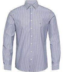 bold stripe slim shirt skjorta casual blå calvin klein