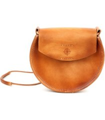 old trend luna leather crossbody bag