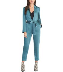 rachel rachel roy belted high-rise jumpsuit