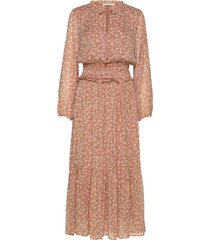 dress maxi dress galajurk roze sofie schnoor