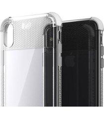 estuche protector ghostek covert 2 iphone x/xs - blanco