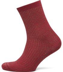 shiny rib so lingerie socks regular socks röd falke women
