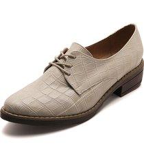zapato casual textura nude heels.d