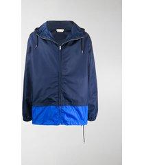 marni colour block lightweight jacket