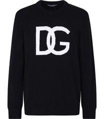 dolce & gabbana branded sweater