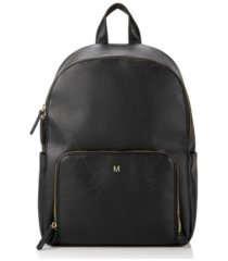 cathy's concepts personalized vegan leather backpack