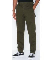 calvin klein jeans 056 ginok utility pant byxor oliv grön