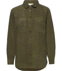 fqsweetie-sh långärmad skjorta grön free/quent