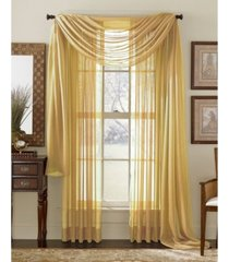 "lumino by hlc. me canberra sheer voile swag scarf 55"" x 216"""