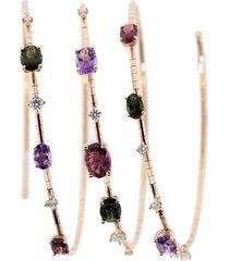 rugiada three circle rainbow bracelet