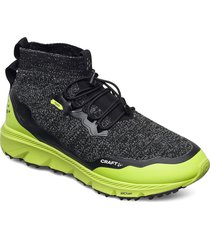 nordic fuseknit hydro mid m shoes sport shoes running shoes svart craft