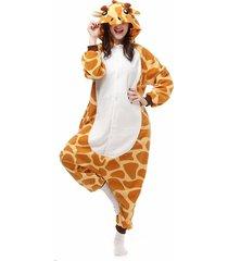 kigurumi pajamas giraffe leotard/onesie festival/holiday animal sleepwear  00005
