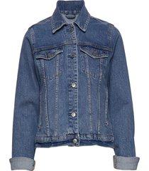 classic denim jacket jeansjack denimjack blauw abercrombie & fitch